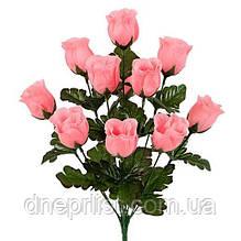 """Букет искусственный """"Бутоны роз"""" 10 цветков, 5 см, 42 см (10 видов)"""