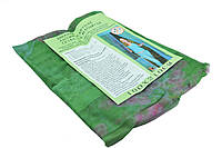 Москитная сетка на магнитах на дверь Magic Mesh зеленый с рисунком, фото 1