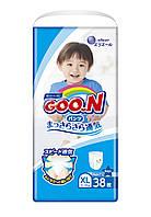 Трусики-підгузки GOO.N для хлопчиків 12-20 кг (розмір Big (XL), 38 шт)