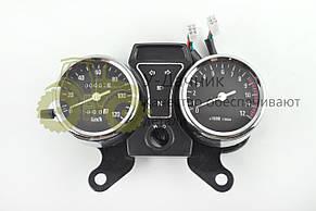 Панель приборов (в сборе)   Alpha   (120км/ч, хром, аналоговый тахометр)   (#MY-120)