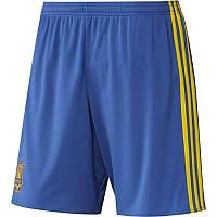 Шорты игровые футбольные Adidas FFU Сборной Украины AC5578 (размер M)