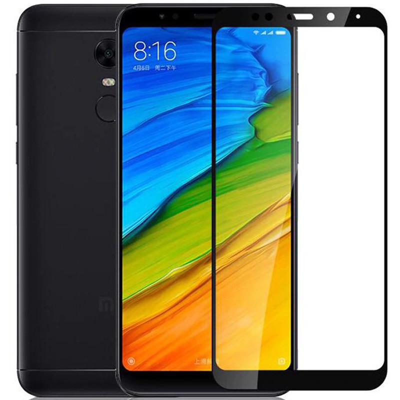 Защитное цветное стекло Mocoson 5D (full glue) на весь экран для Xiaomi Redmi 5