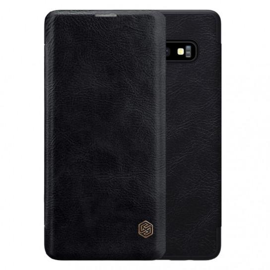 Кожаный чехол (книжка) Amax Qin Series для Samsung Galaxy S10