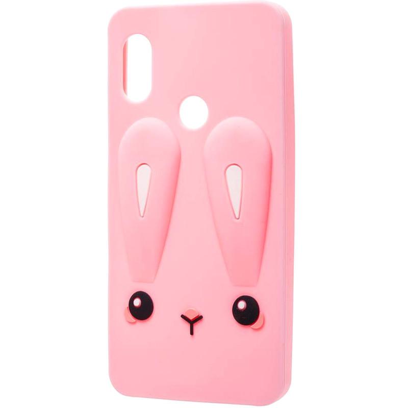 Силиконовая накладка 3D Child Bunny для Xiaomi Mi A2 Lite / Xiaomi Redmi 6 Pro