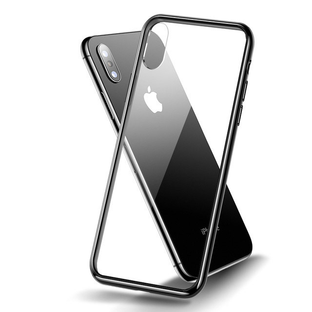 "TPU+Glass чехол Clear для Apple iPhone XS Max (6.5"")"