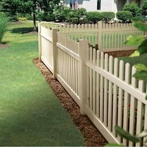 Деревянный декоративный забор LNK 120 см