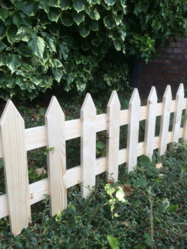 Деревянный забор декоративный LNK 30см