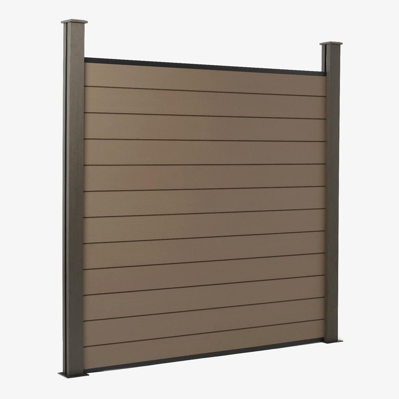 Деревянный  забор для сада декоративный LNK 170см