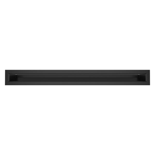 Вентиляційна решітка для каміна SAVEN Loft 60х600 чорна