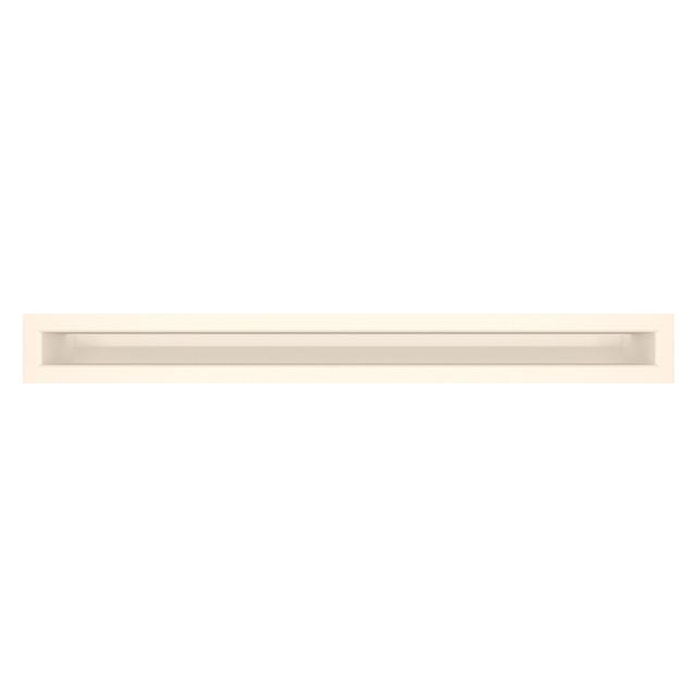 Вентиляційна решітка для каміна SAVEN Loft 60х600 кремова