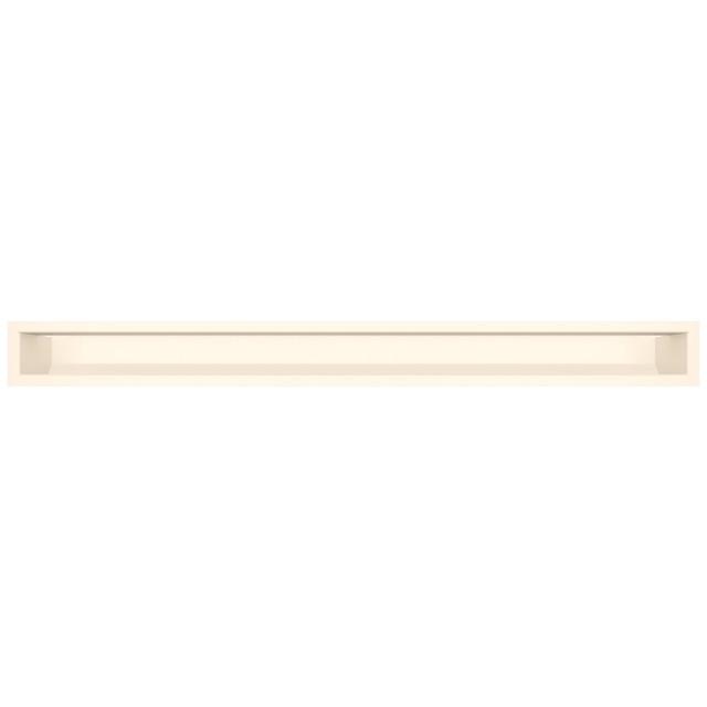 Вентиляційна решітка для каміна SAVEN Loft 90х1000 кремова