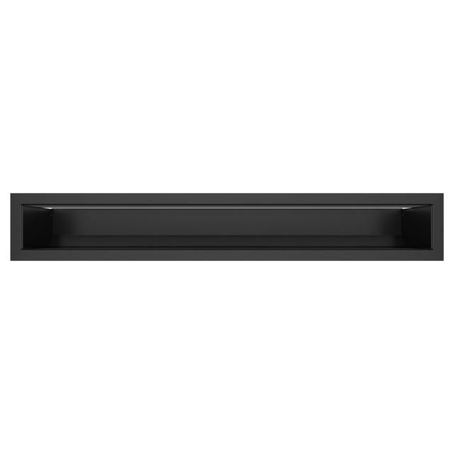 Вентиляційна решітка для каміна SAVEN Loft 90х600 чорна