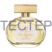 Antonio Banderas Her Golden Secret Туалетная вода 80 ml Тестер Original
