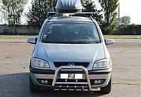 Кенгурятник с грилем (защита переднего бампера) Opel Zafira A 1999-2005