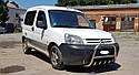 Захист переднього бампера (кенгурятник) Peugeot Partner 1996-2009, фото 3