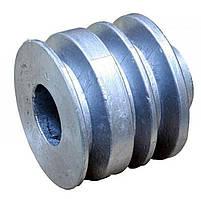 Шкив ремня ведущий 3-х ручейковый м/б   168F   (6,5Hp)   (Ø19mm)   ST