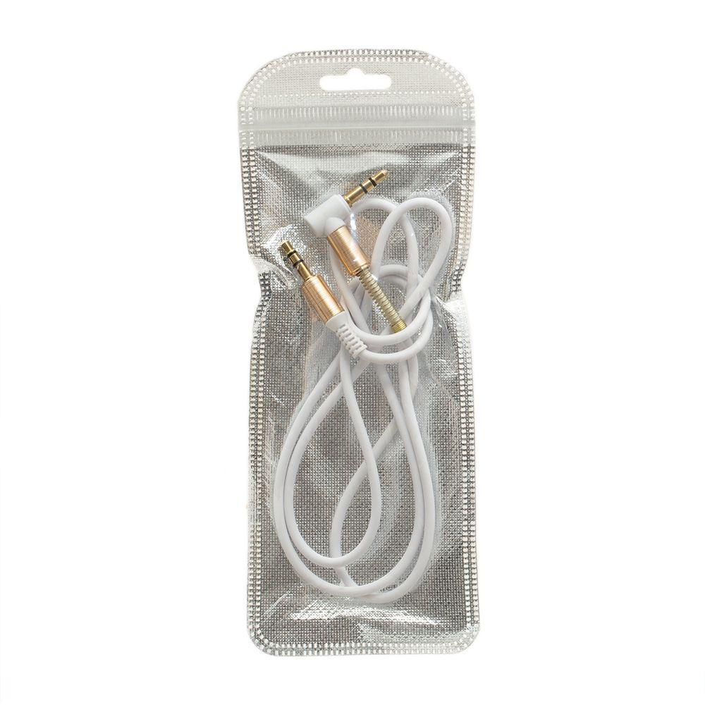 AUX кабель Line SP-255 (1м, білий)