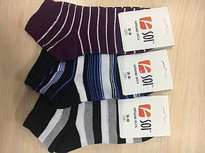 Шкарпетки спортивні жіночі  23-25 р. (36-40) з принтом