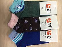 Носки спортивные женские 23-25 р. (36-40) с принтом, фото 2