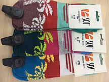 Шкарпетки спортивні жіночі  23-25 р. (36-40) з принтом, фото 3