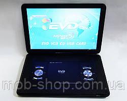 """Автомобільний портативний ДВД плеєр DVD Opera NS-1630 15,6"""" вбудований Т2 гри USB"""