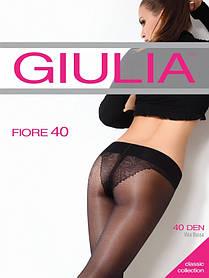 """Колготки з мереживними трусиками і заниженою талією ТМ """" Giulia, різні кольори"""