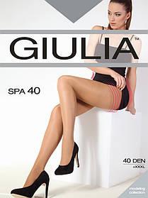 "Колготки з ефектом top-comfort SPA 40 ТМ ""Giulia"" розмір 2 (diano, vison, fumo, cappuccino )"