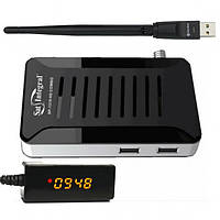 Т2/спутниковый тюнер Sat-Integral SP-1319 HD Combo с выносным дисплеем + Wi-Fi + прошивка