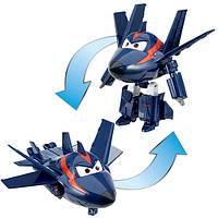 Super Wings S2 Супер крылья Джетт и его друзья самолет трансформер Агент Чейз Transforming Agent Chase