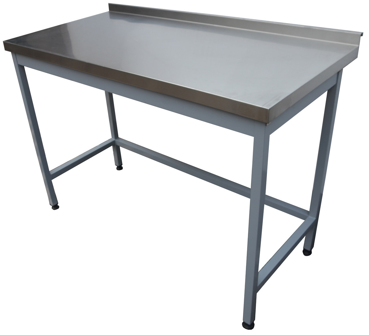 Стіл виробничий з нержавіючої сталі без полички 1400, 500, AISI 430