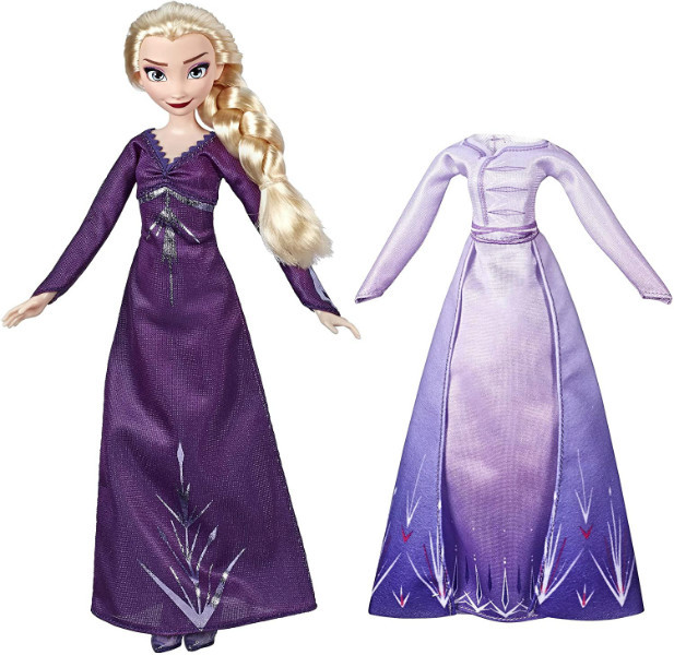 Disney Frozen 2 Холодное сердце 2 Эльза с платьем Arendelle  E6907 Elsa Fashion Doll Inspired