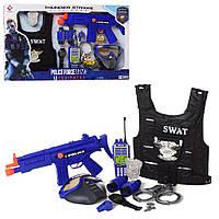 Игровой набор полицейского с бронежилетом SWAT арт. 013В