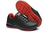 Женские кроссовки Grisport 42811 чёрные с красным, фото 2