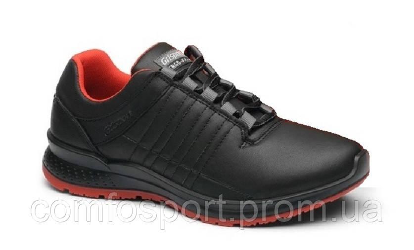 Женские кроссовки Grisport 42811 чёрные с красным