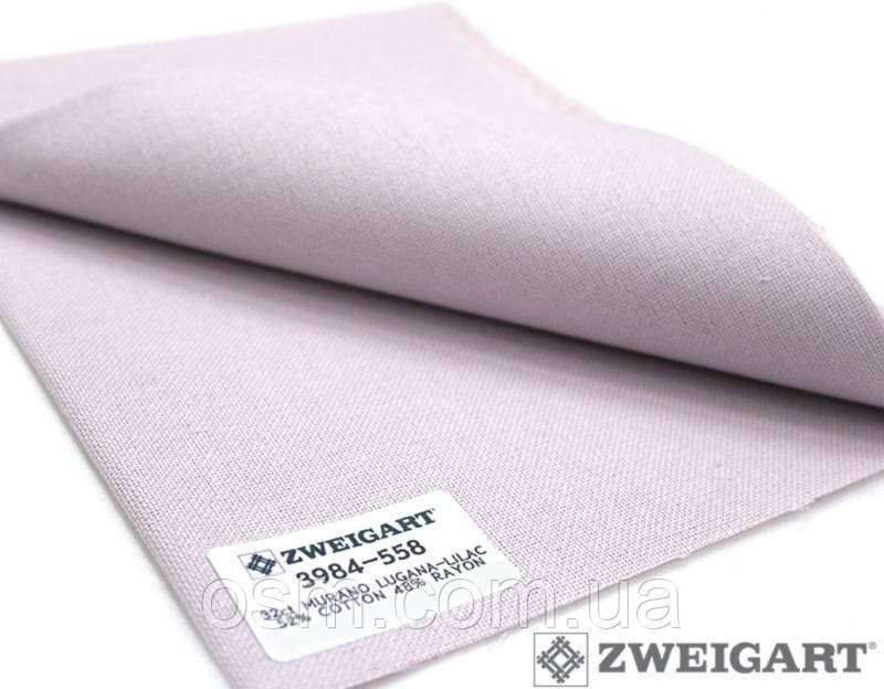 3984/558 Murano Lugana 32 (ширина 140см) фиолетовый