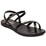 Женские сандалии босоножки Ipanema  82682-20766  эбони, фото 3
