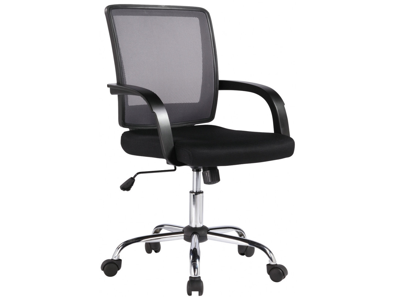 Крісло офісне Office4You VISANO, Black/Chrome (27786)