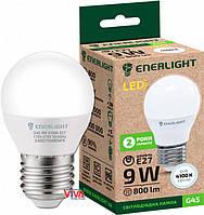 LED лампа светодиодная ENERLIGHT G45 9Вт 4100K E27 (G45E279SMDNFR)