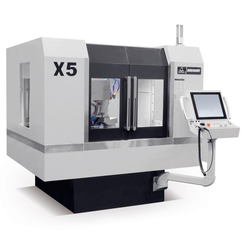 Пятикоординатный заточной станок с ЧПУ для инструментов X5 QD Grinding Machine