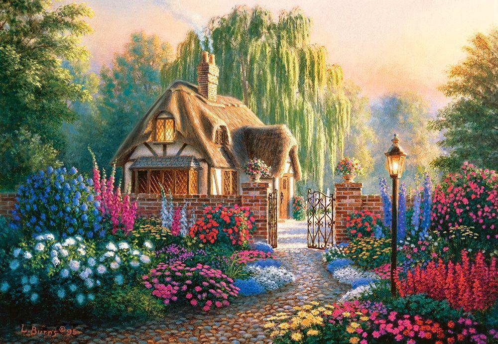Пазлы Крэнфилдский сад на 1000 элементов