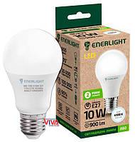LED лампа светодиодная ENERLIGHT A60 10W 4100K E27 (A60E2710SMDNFR)
