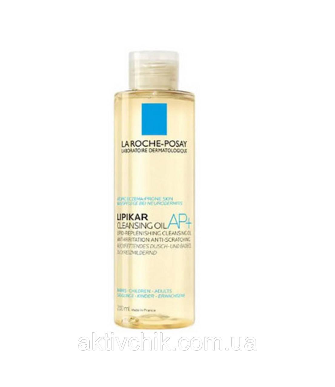 Липидовосполняющее масло для ванной и душа Ля Рош La Roche-Posay  Lipikar AP+ Cleansing Oil
