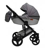 Универсальная детская коляска 2 в 1 Mikrus Comodo 23 (Grey)