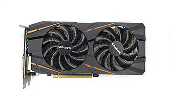 Б/У видеокарта GIGABYTE AMD Radeon RX 570 4 Гб 256 бит GDDR5