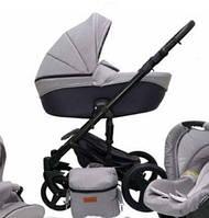 Универсальная детская коляска 2 в 1 Mikrus Comodo 18 (Серый)