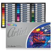 Пастель масляная 36 цветов, Colorino Artist