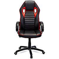 Кресло офисное компьютерное игровое Flame геймерское (офісне крісло комп'ютерне ігрове геймерське), фото 1