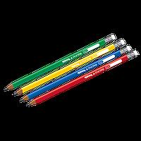 Карандаш трехгранный чернографитный, мягкость 2B, Colorino