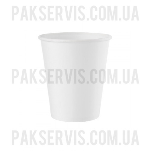 Стакан бумажный 450(500)мл белый 50шт. 1/20