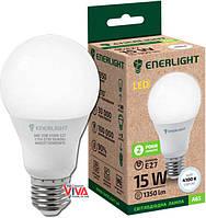 LED лампа светодиодная ENERLIGHT A60 15W 4100K E27 (A65E2715SMDNFR)
